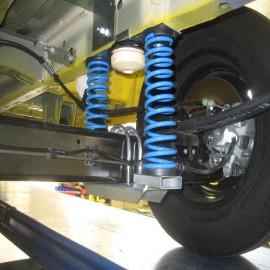 La foto indica molle carico posteriori Ford Transit