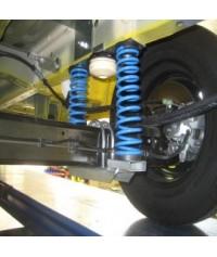 La foto indica coppia molle carico posteriori per Ford Transit 350
