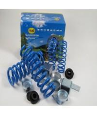 La foto illustra kit di rinforzo e rialzo Volkswagen Caddy e Caddy Maxi